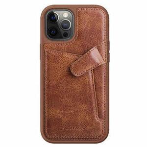 قاب آيفون 12 - مدل aoge Leather Cover