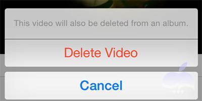 حذف فیلم های دانلود شده در آیفون و آیپد