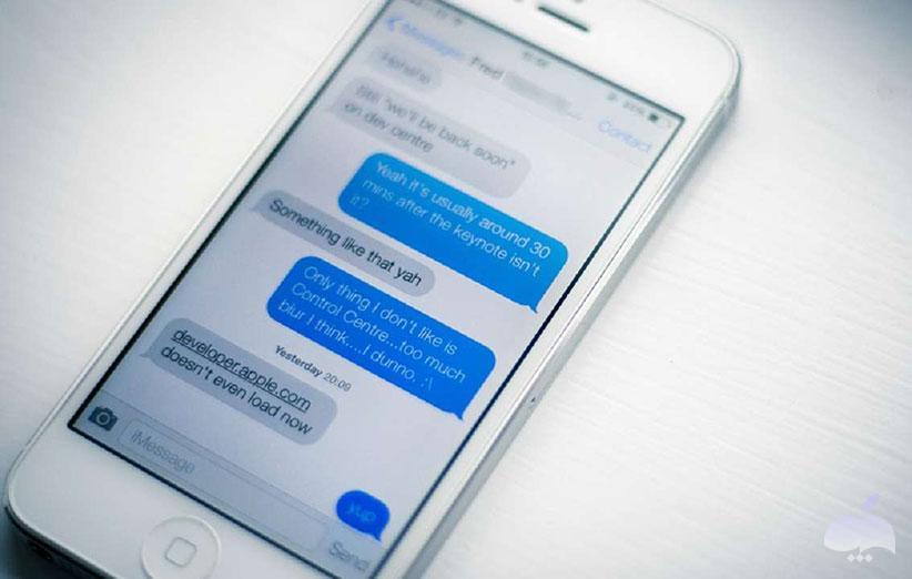 مخفی کردن پیام ها در آیفون