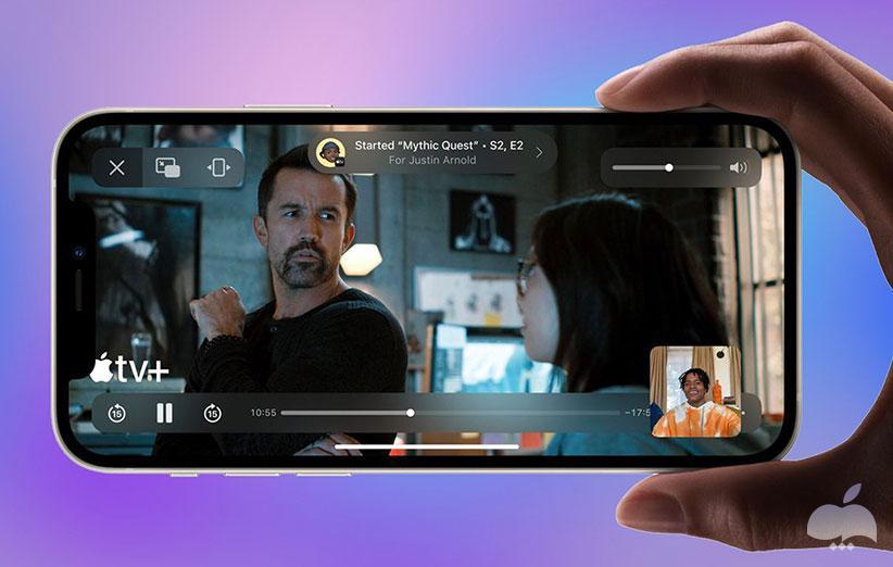 نقد و بررسی iOS 15 - فیس تایم
