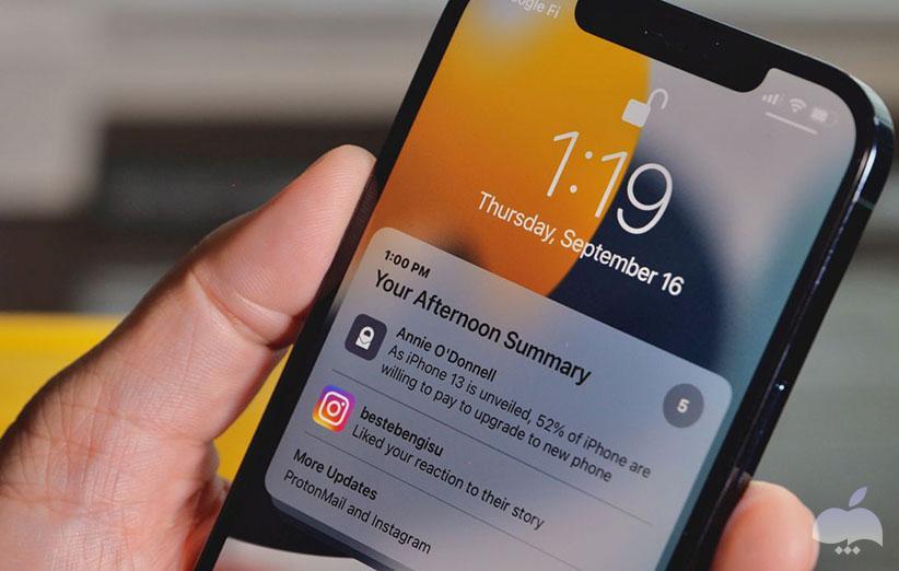 نقد و بررسی iOS 15 - نوتیفیکیشن