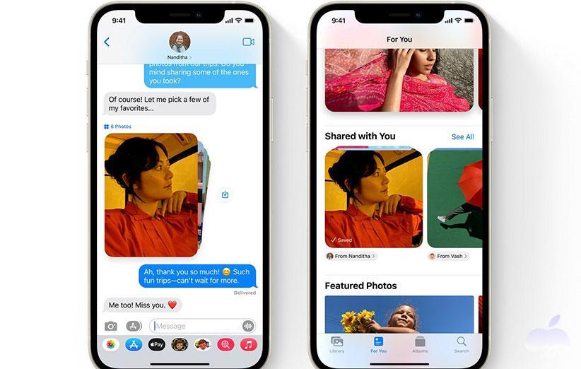نقد و بررسی iOS 15 - پیام ها